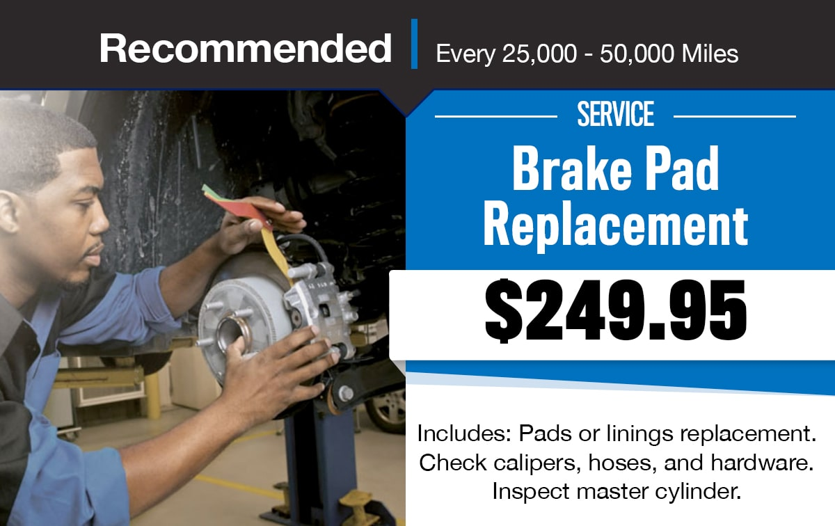 CDJR Brake Pad Replacement Special Coupon