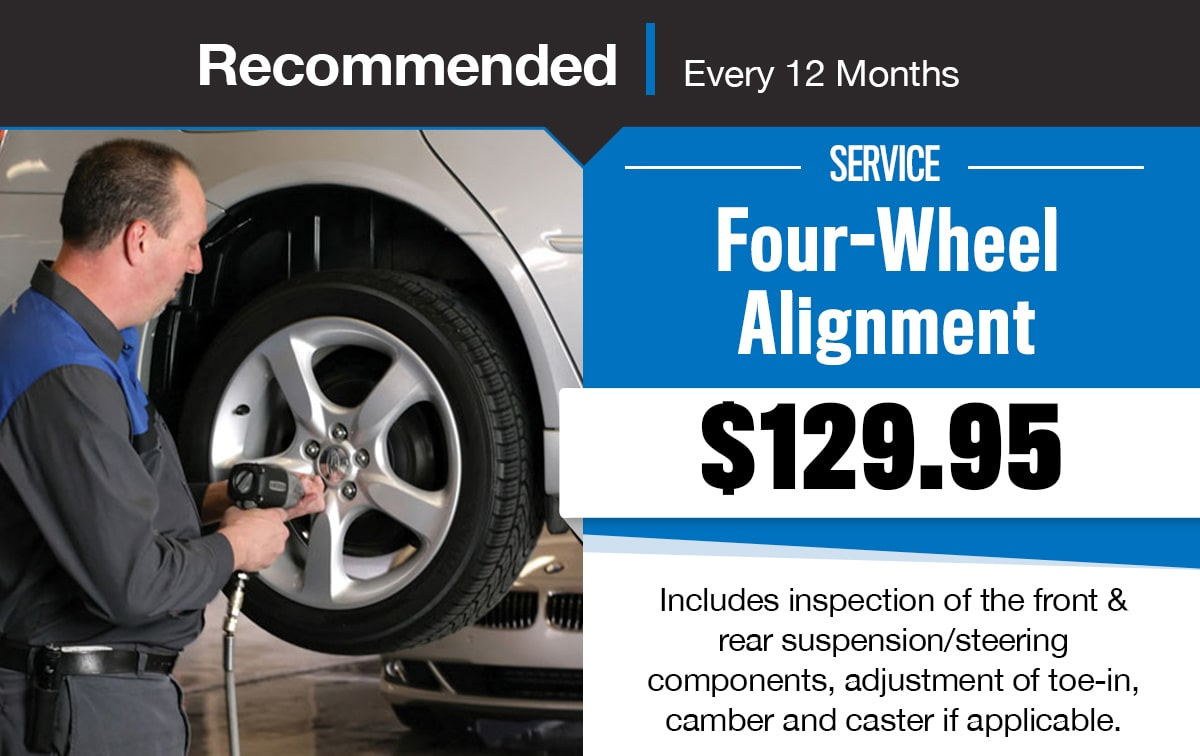 CDJR Four-Wheel Alignment Service Special Coupon