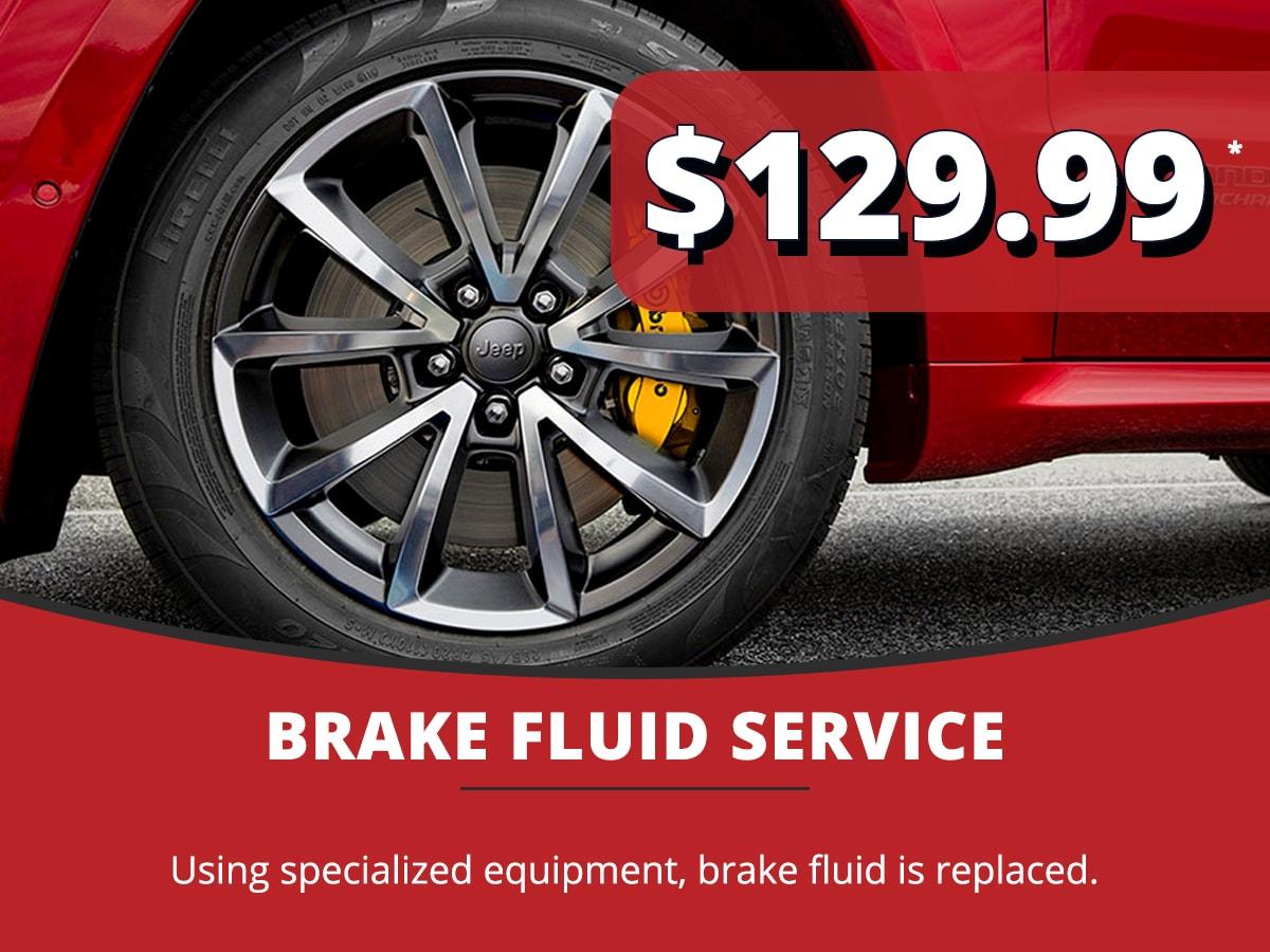 Brake Fluid Service Coupon