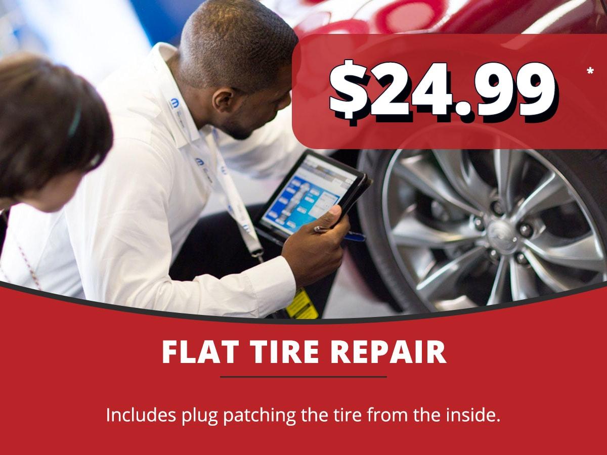 Flat Tire Repair Service Coupon