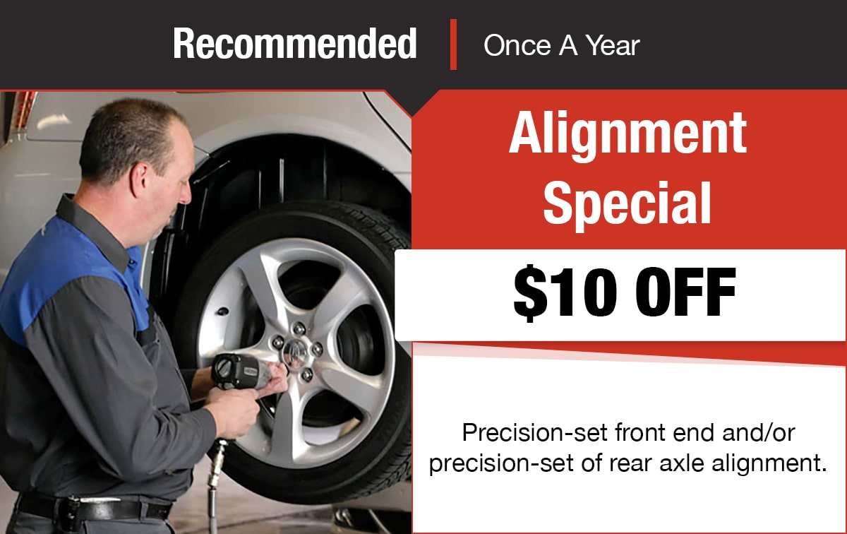 Alignment Special Service Coupon