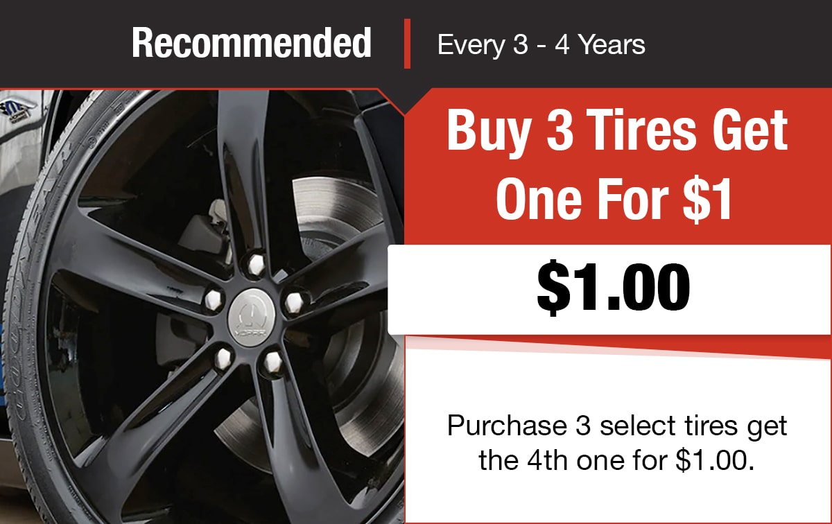 Tire Special Service Coupon