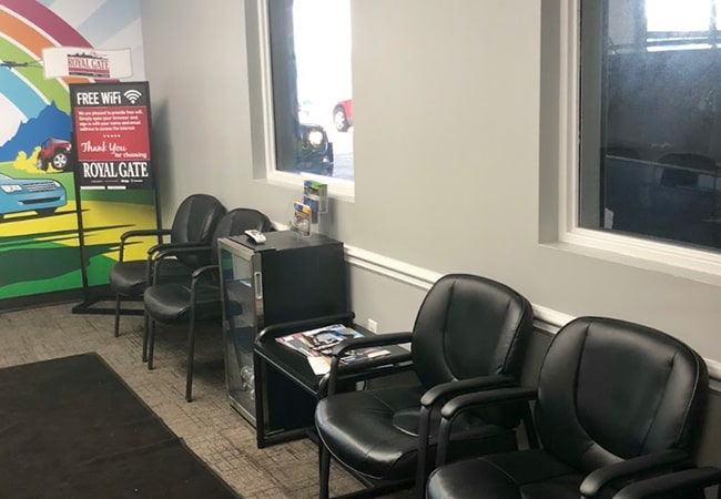 Dealership Amenities Waiting Area