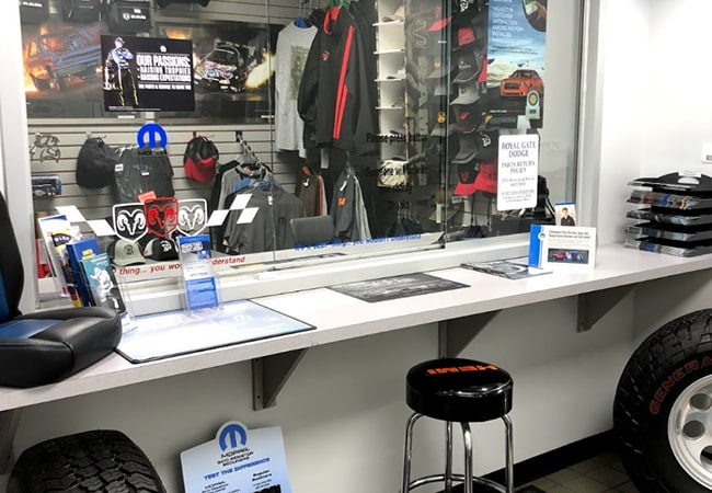 Dealership Amenities Accessories