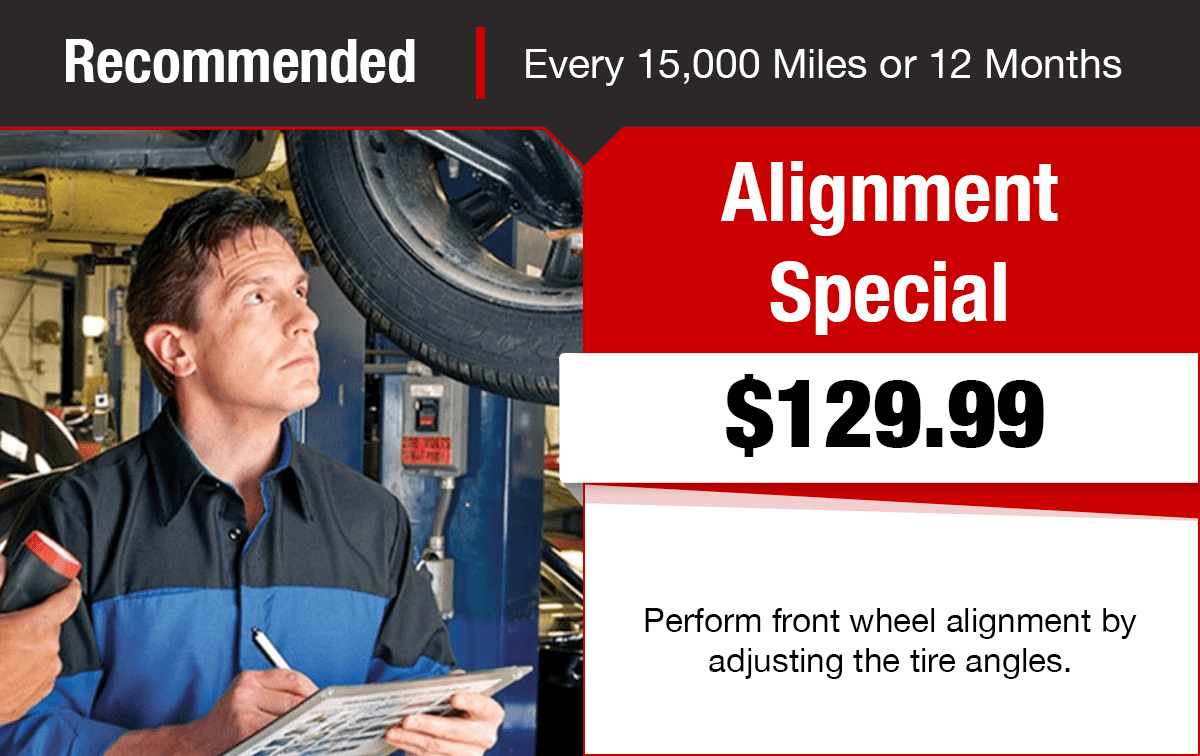 Chrysler Dodge Jeep Ram Alignment Service Special Coupon