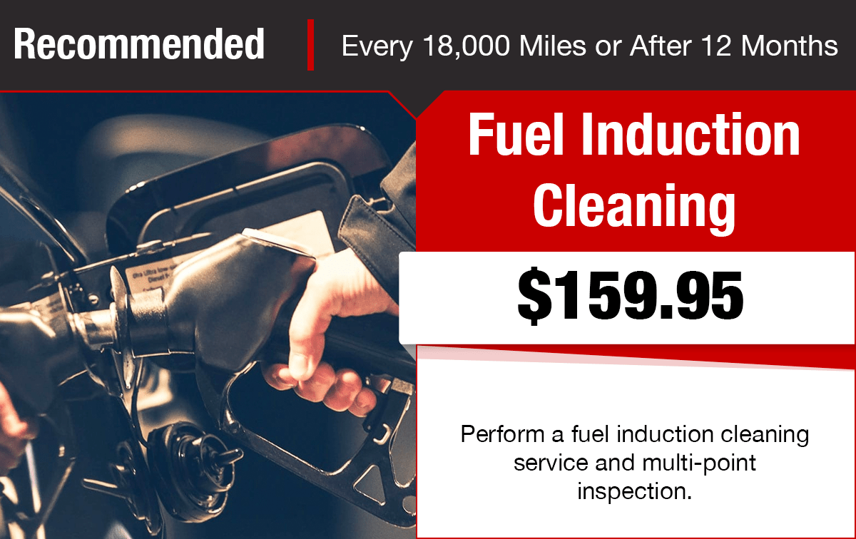Chrysler Dodge Jeep Ram Fuel Induction Cleaning Service Special Coupon