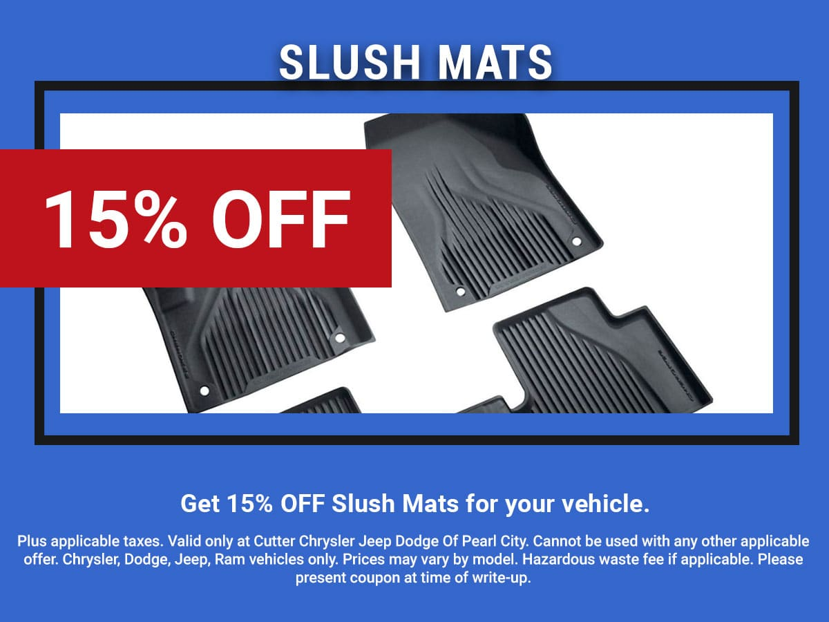 CDJR Slush Mats Service Coupon