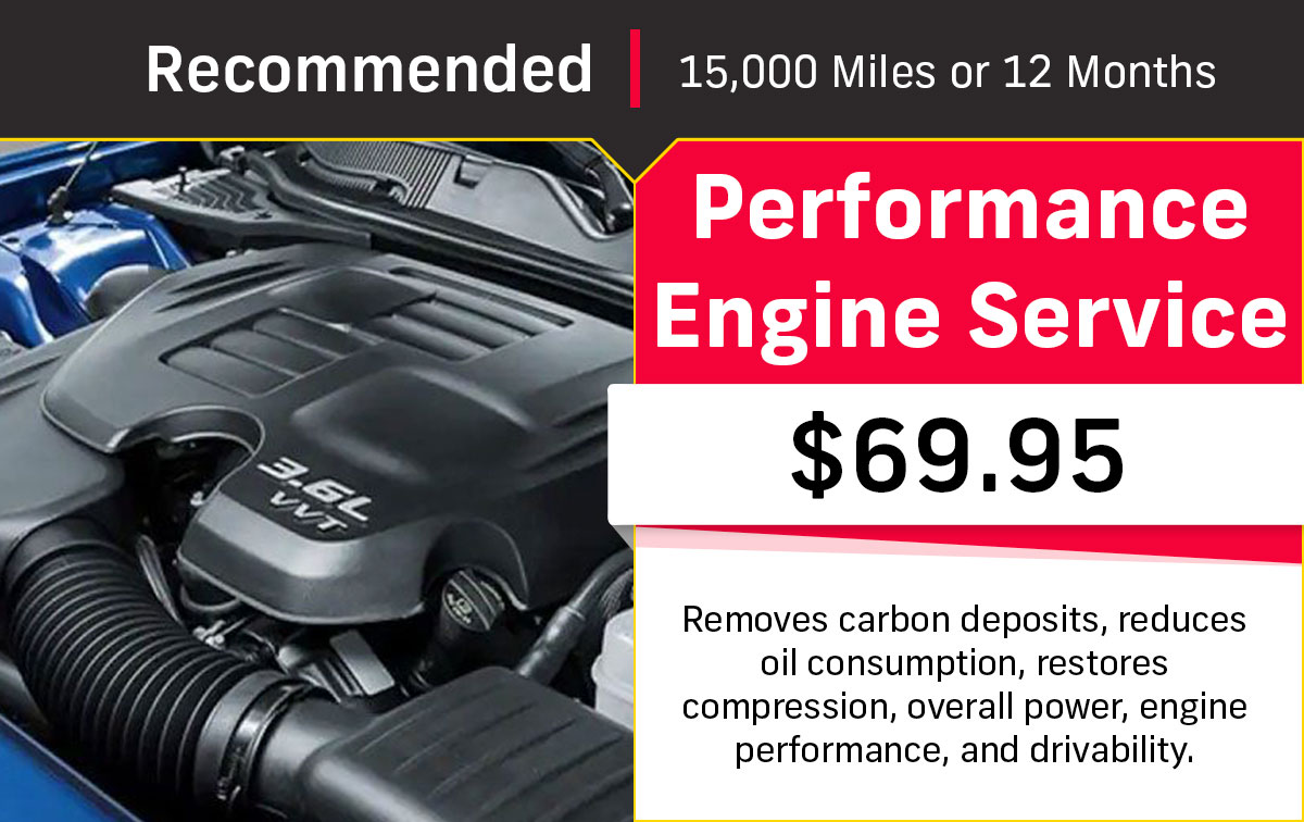 CDJR Performance Engine Service Special Coupon