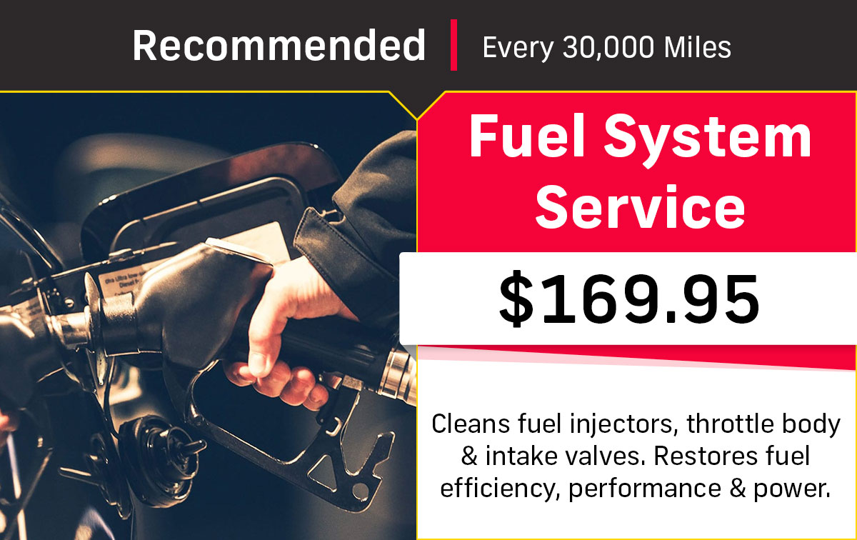CDJR Fuel System Service Special Coupon