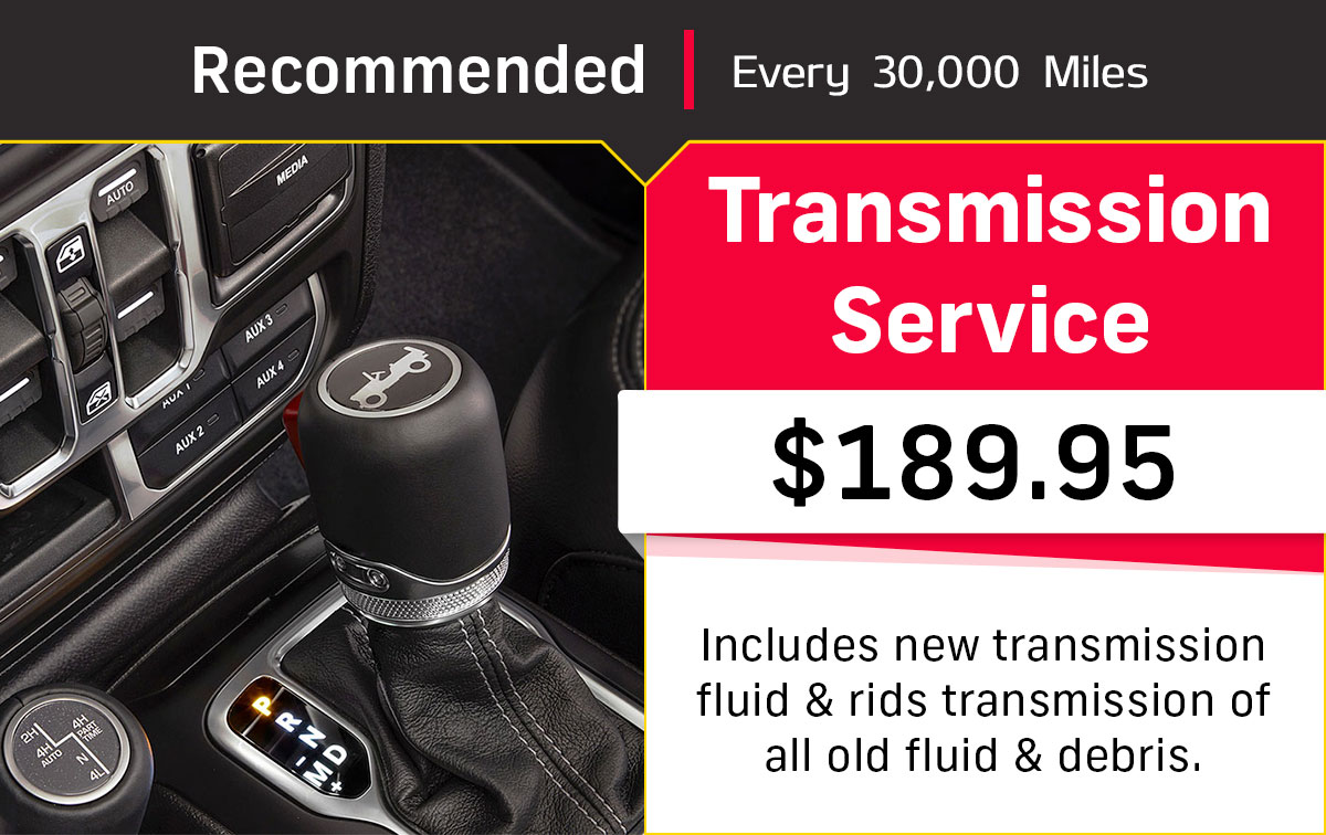 CDJR Transmission Service Special Coupon