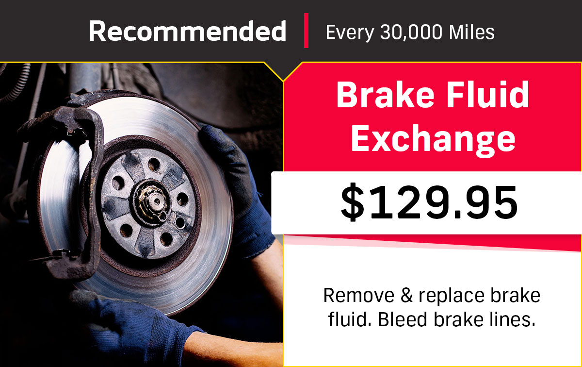 CDJR Brake Fluid Exchange Service Special Coupon