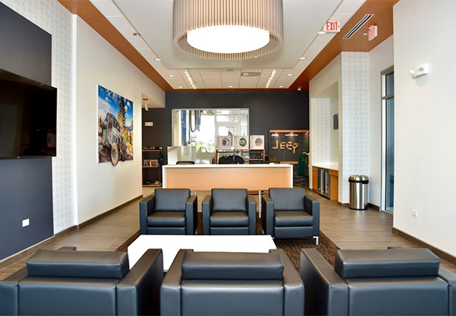 DuPage CDJR Waiting Room