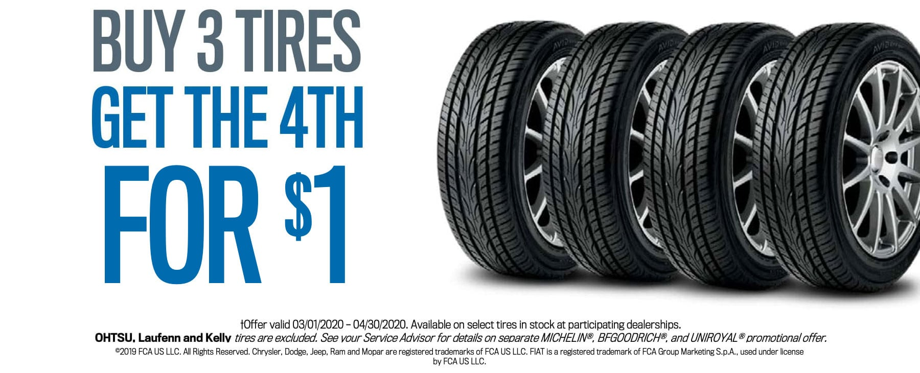 CDJR Tire Service Special Coupon