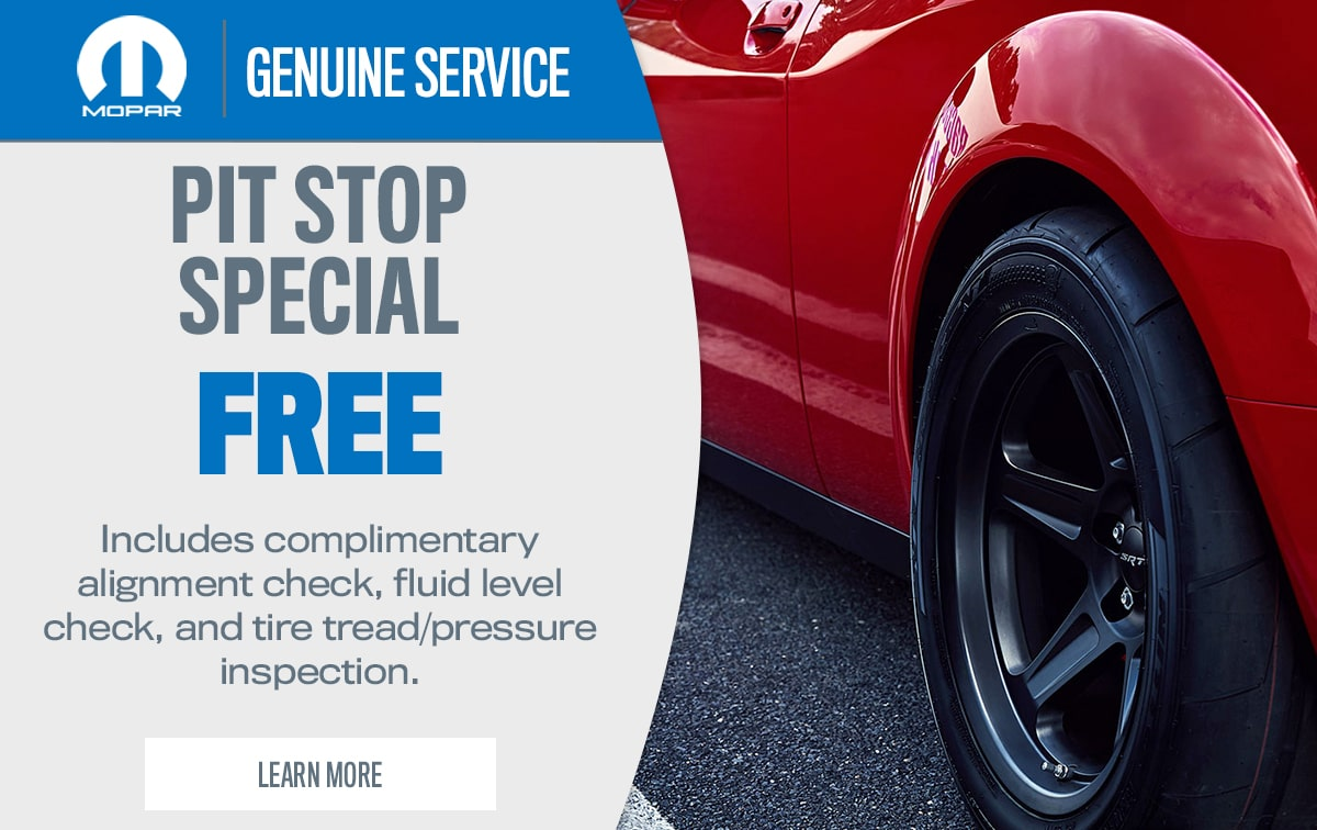 CDJR Pit Stop Service Special Coupon