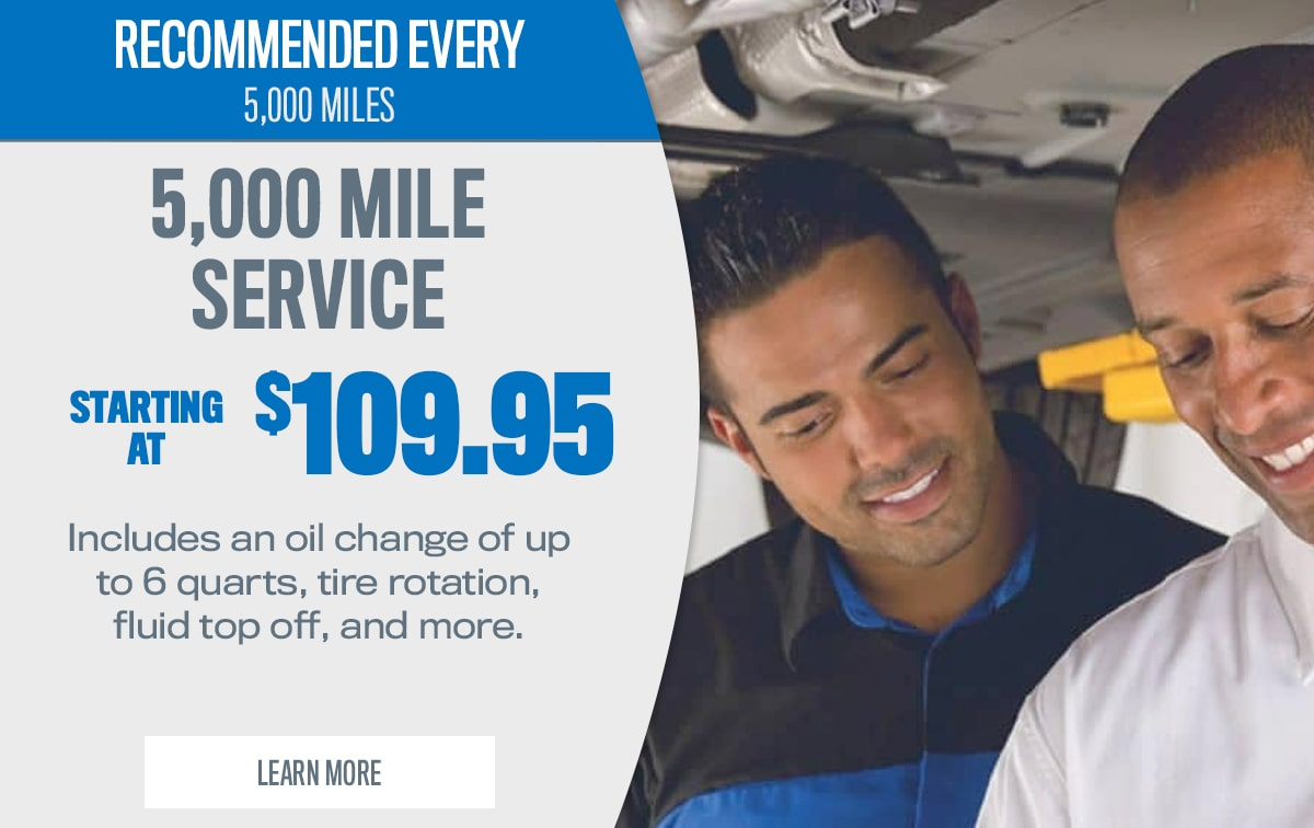 CDJR 5,000 Mile Service Special Coupon