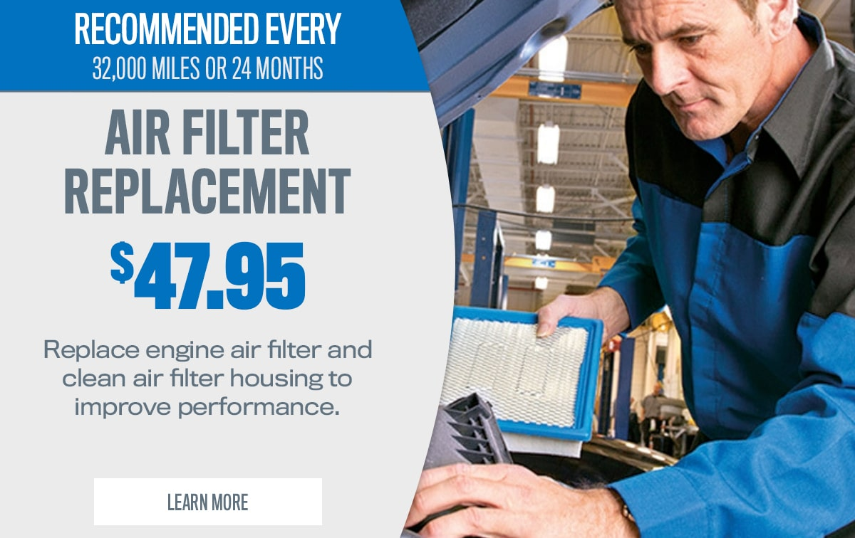 CDJR Air Filter Replacement Service Special Coupon