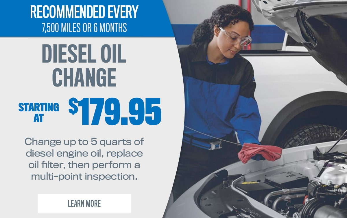 CDJR Diesel Oil Change Service Special Coupon