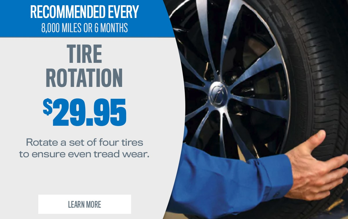 CDJR Tire Rotation Service Special Coupon