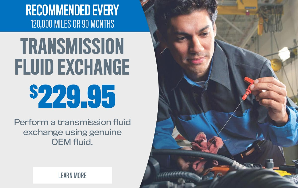 CDJR Transmission Fluid Exchange Service Special Coupon