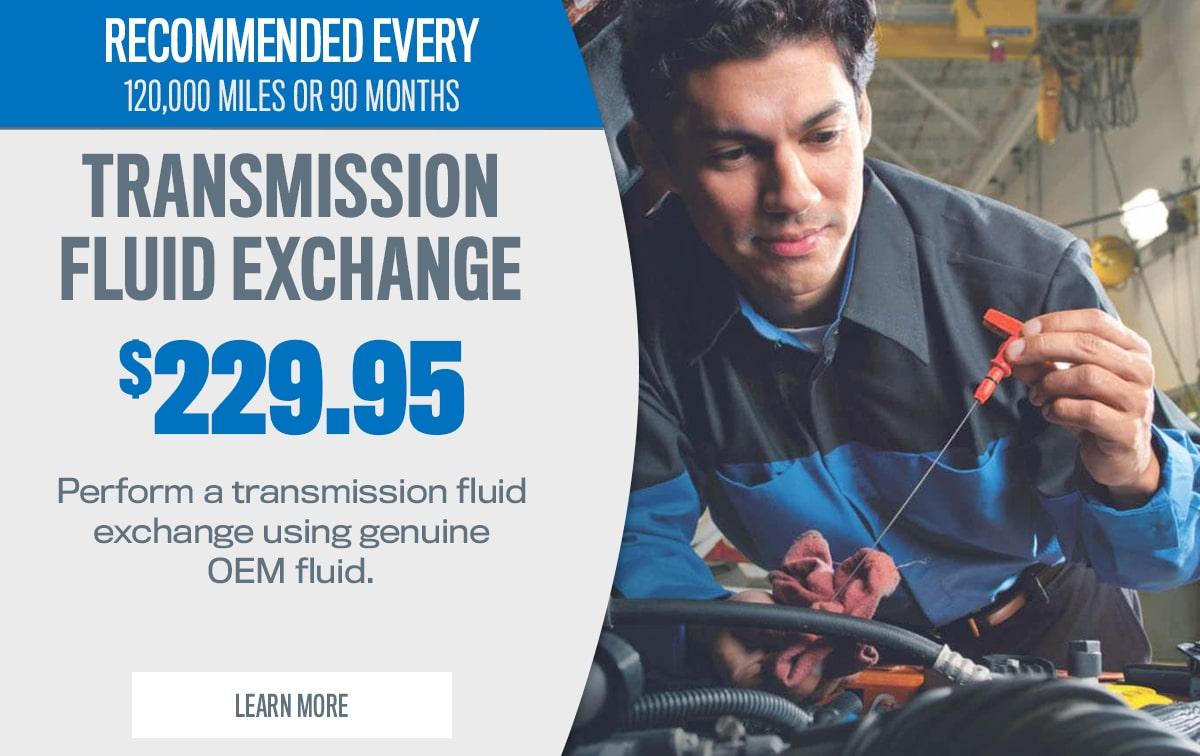 CDJR Transmission Fluid Exchange Service