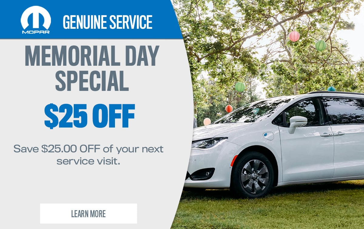 CDJR Spring Service Special Coupon
