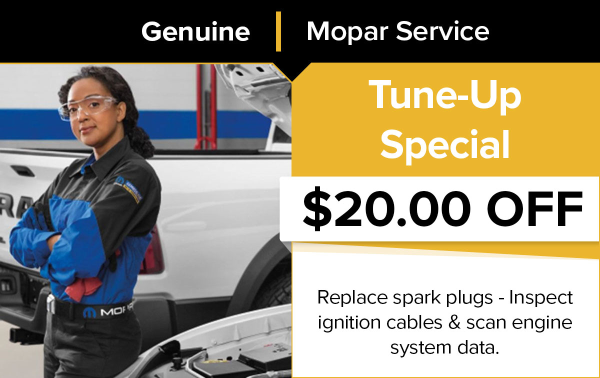 Mopar Tune-Up Service Special Coupon