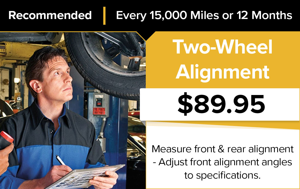 Mopar 2-Wheel Alignment Service Special Coupon