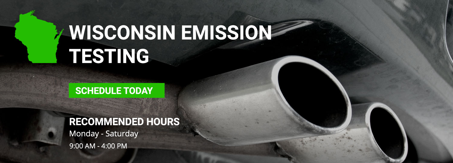 Wisconsin State Emission Testing