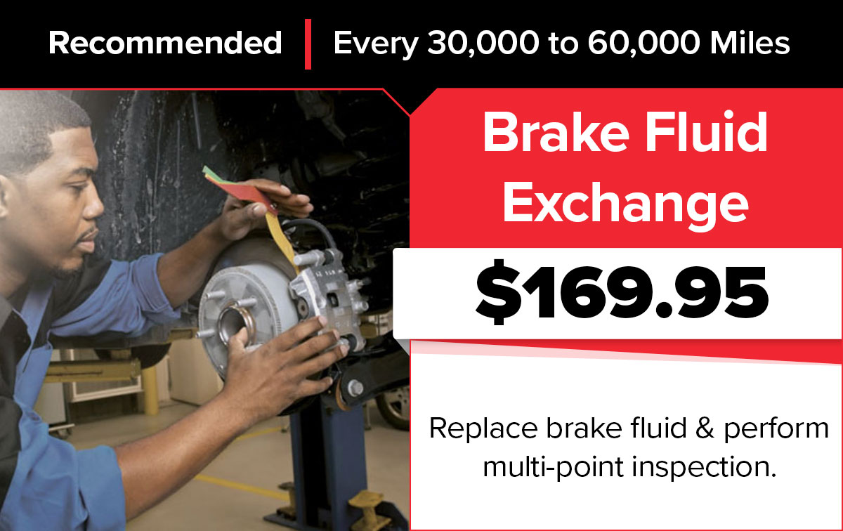 Mopar Brake Fluid Exchange Service Special Coupon