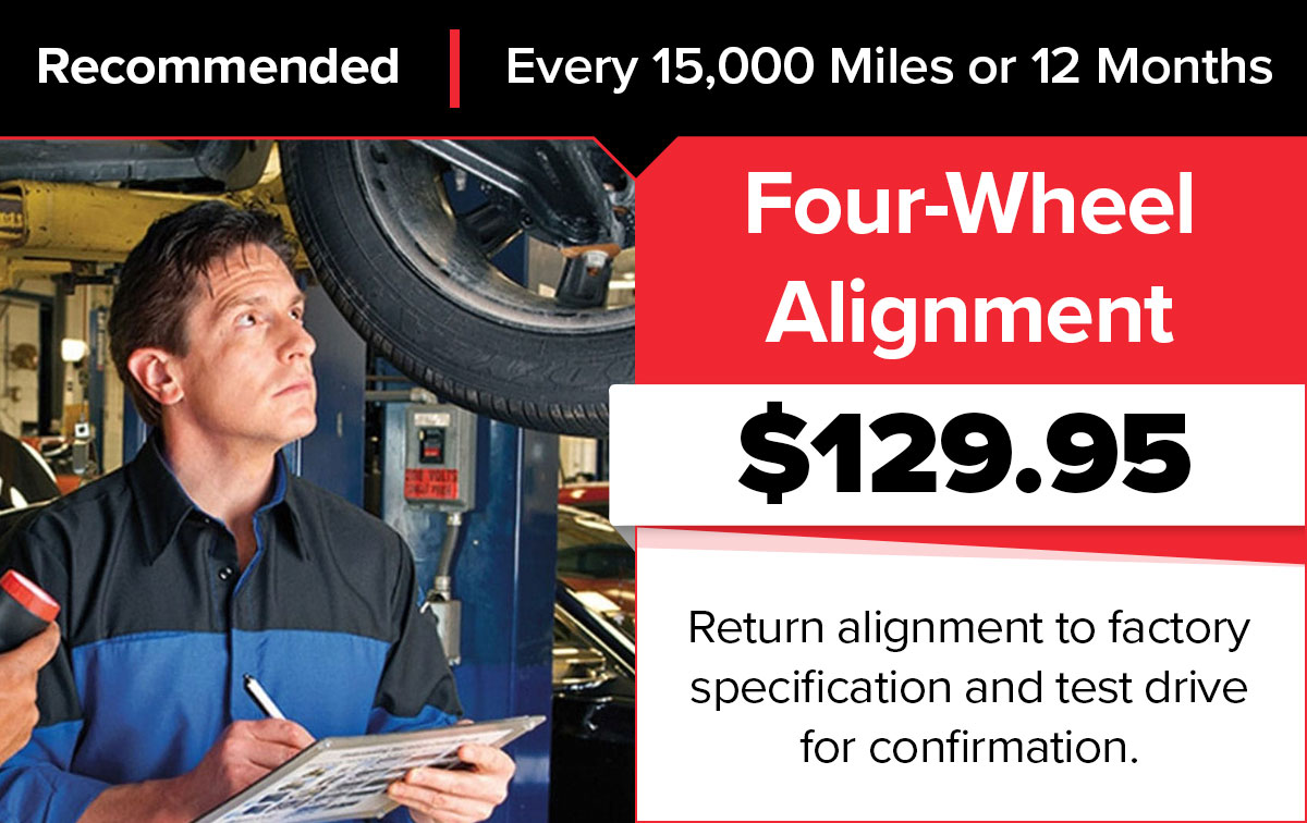 Mopar 4 Wheel Alignment Service Special Coupon