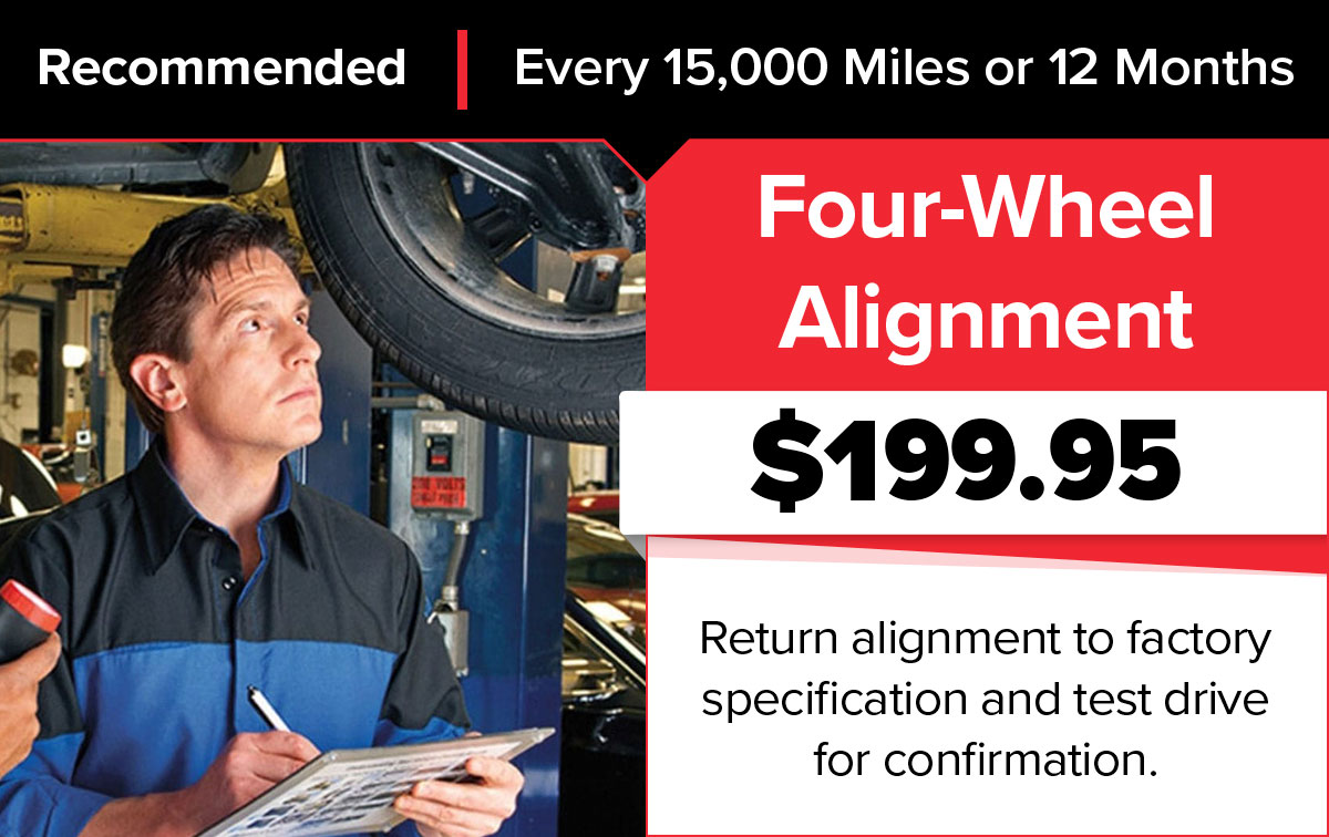 Mopar 4 Wheel Alignment Service Special Coupon