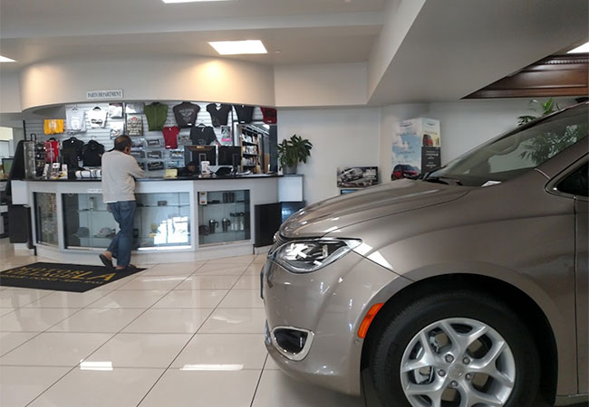 LA Chrysler Dodge Jeep Ram Showroom