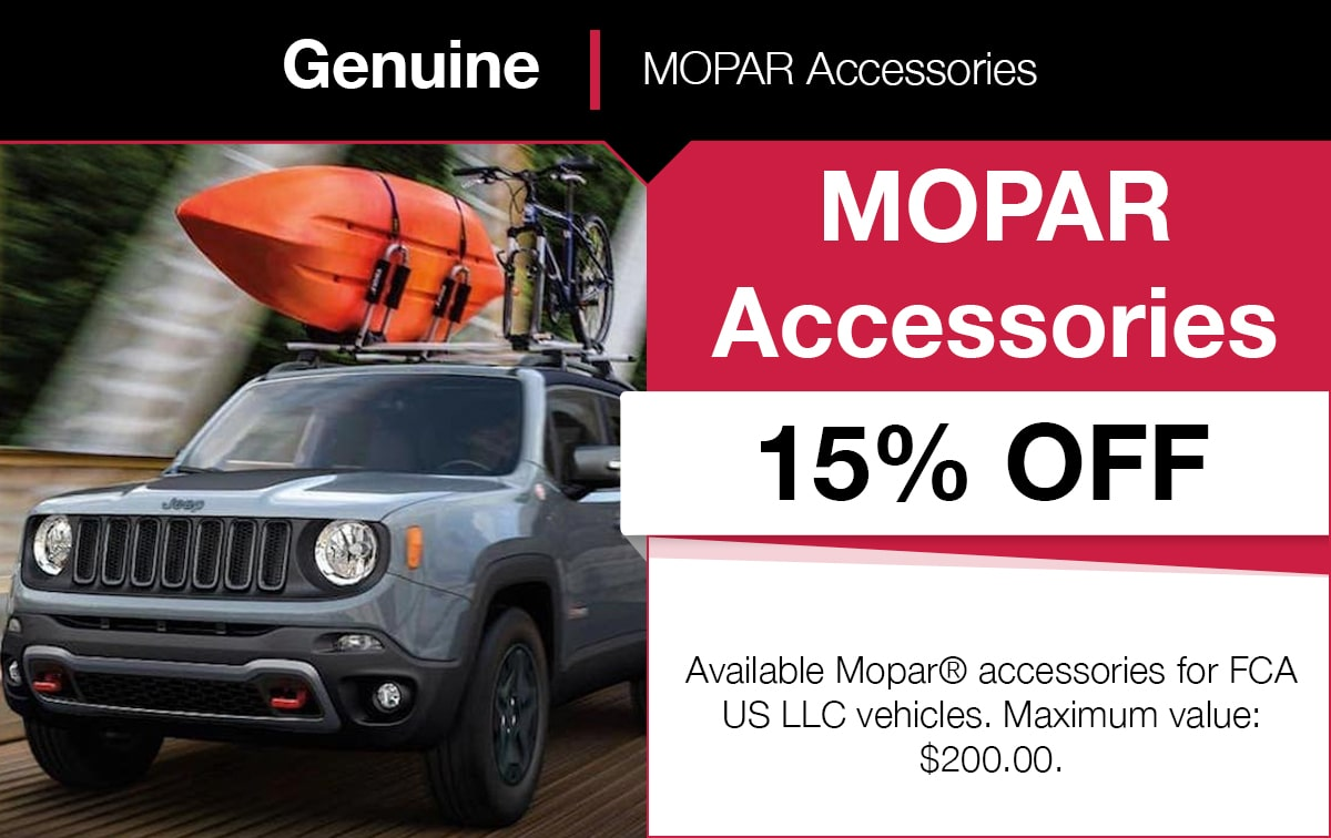 Mopar MOPAR Accessories Service Special Coupon