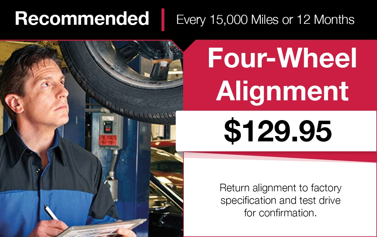 Mopar Four-Wheel Alignment Service Special Coupon
