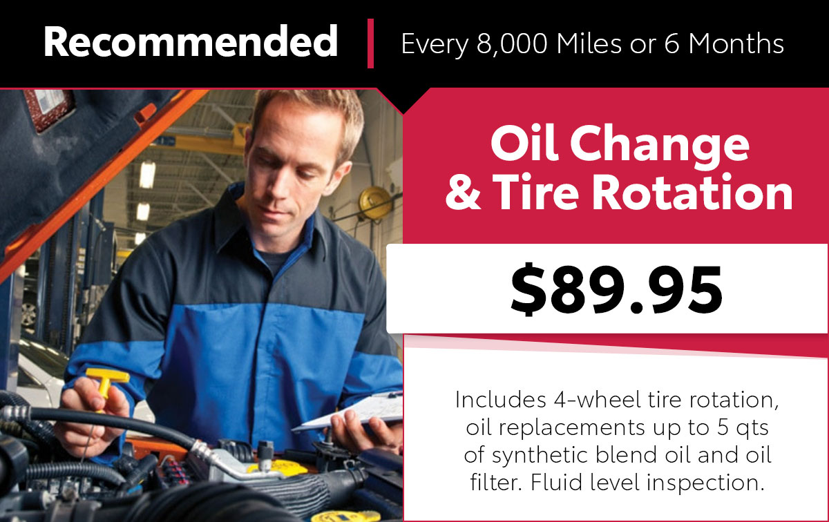 Mopar Oil Change & Tire Rotation Service Special Coupon