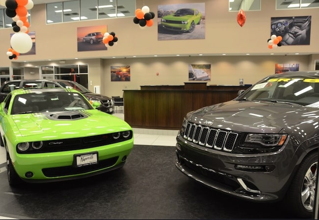 Naperville Chrysler Dodge Jeep Ram Showroom