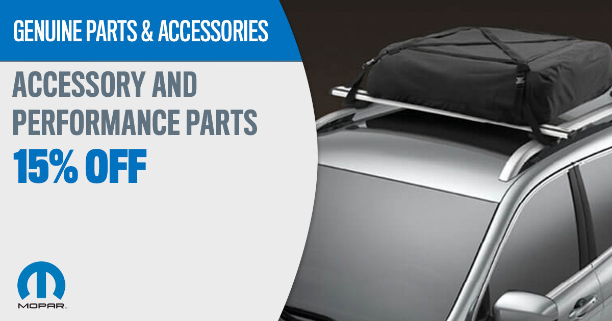 Mopar Accessory and Performance Parts Service Special Coupon