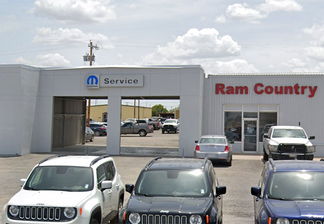 Ram Country Fort Stockton Service Bay
