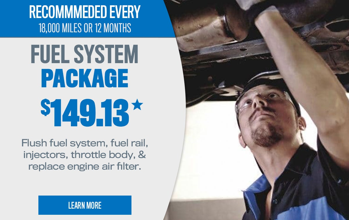 CDJR Fuel System Package Service Special Coupon