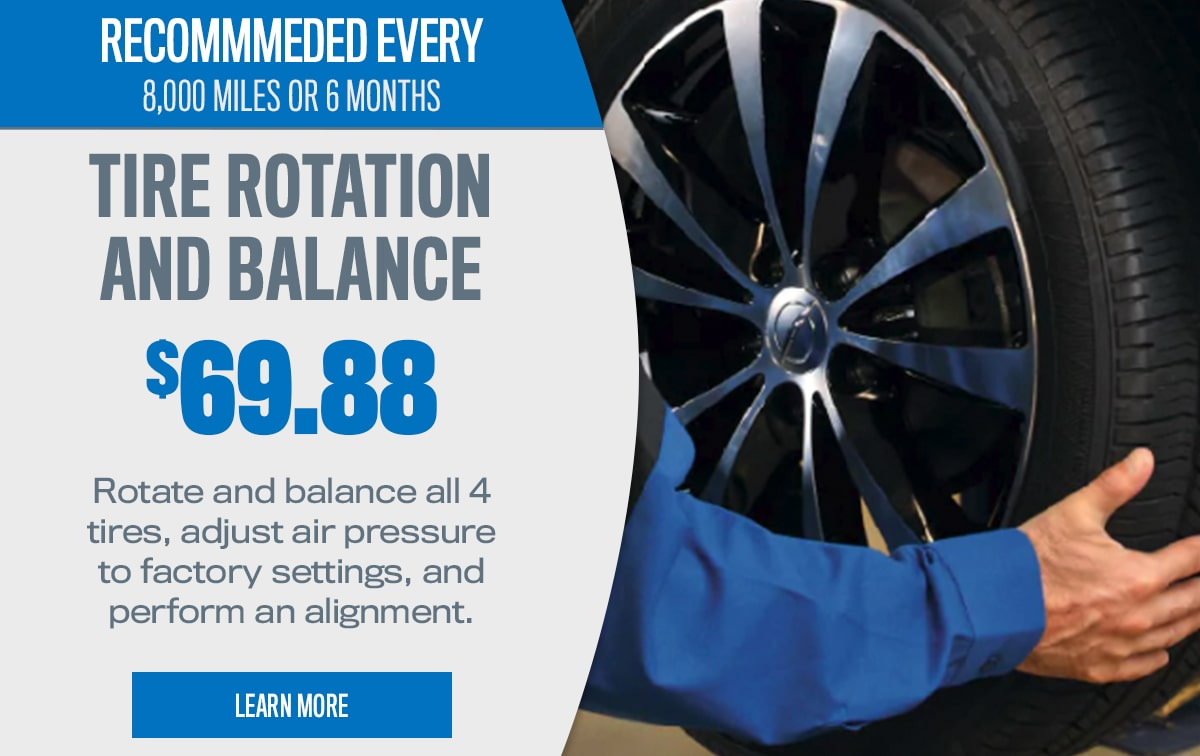 CDJR Tire Rotation and Balance Service Special Coupon