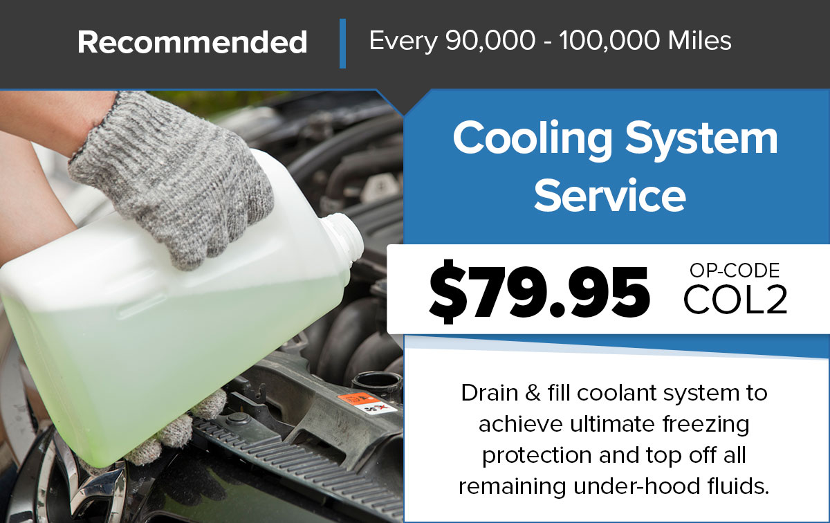 Chrysler Dodge Jeep Ram Cooling System Service Service Special Coupon