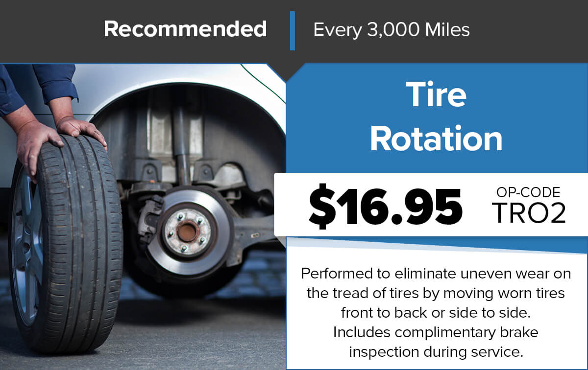 Chrysler Dodge Jeep Ram Tire Rotation Service Special Coupon