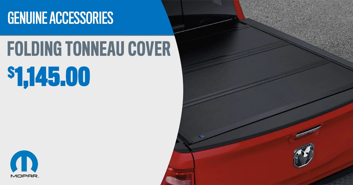 CDJR Folding Tonneau Cover Accessory Service Special Coupon