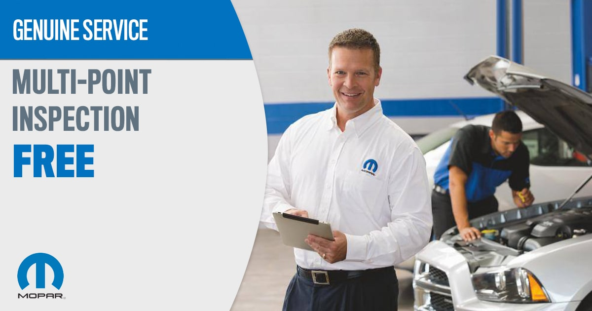 CDJR Multi-Point Inspection Service Special Coupon