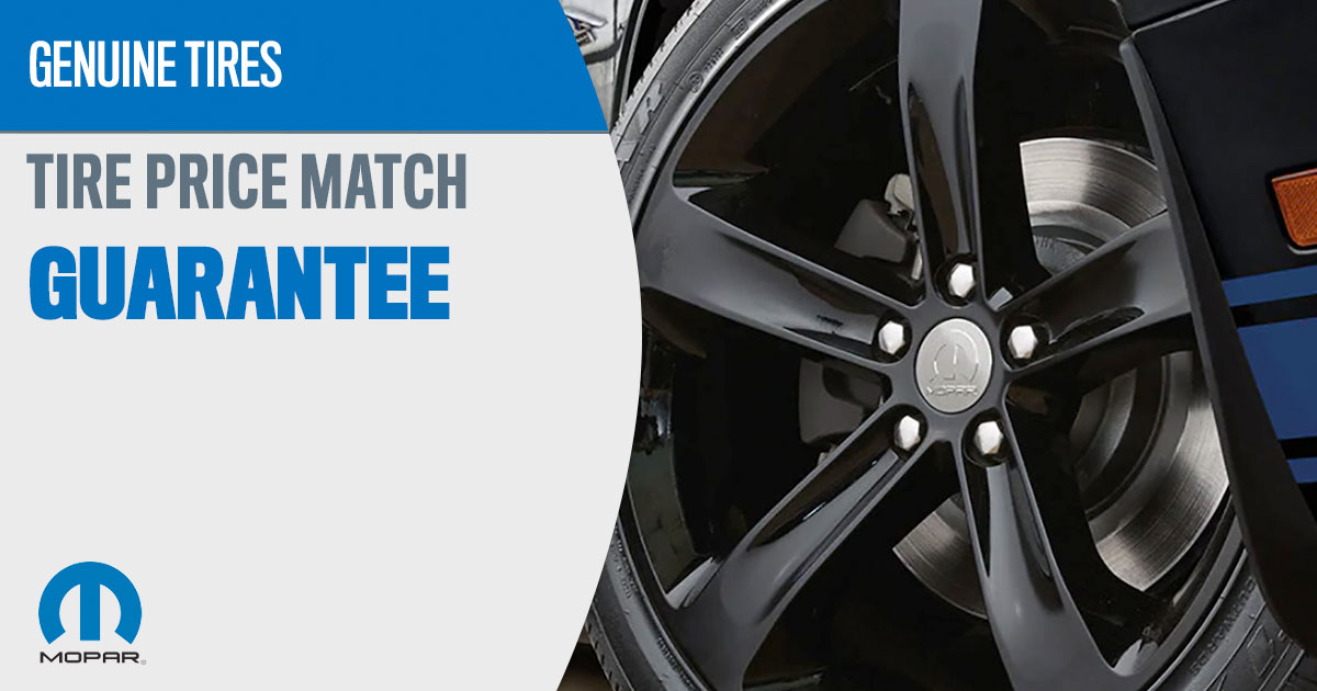 CDJR Tire Price Match Special Coupon