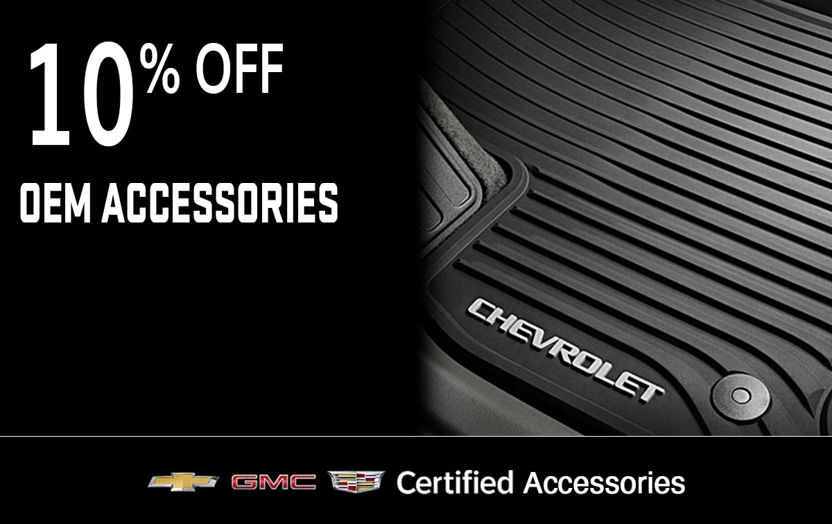 Chevrolet Buick GMC OEM Accessories Special Coupon