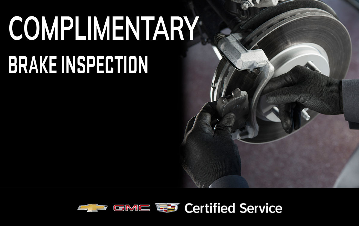 Chevrolet Brake Inspection Service Special Coupon