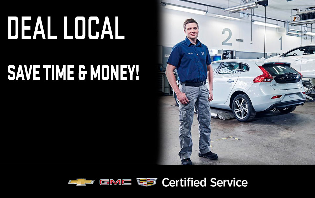 Chevrolet Buick GMC Deal Local Service Special Coupon