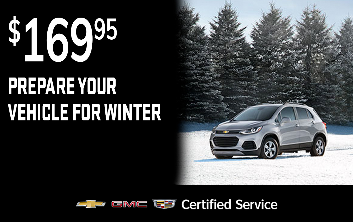Chevrolet Buick GMC Winter Preparation Service Special Coupon