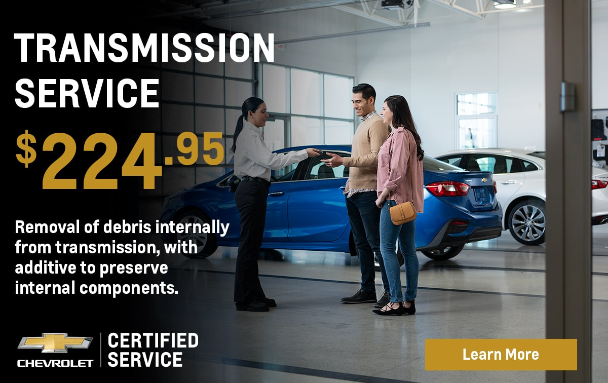 Chevrolet Transmission Service Special Coupon